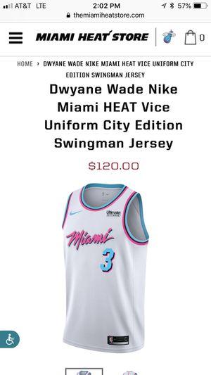 Dwayne Wade Jersey for Sale in Smyrna, GA