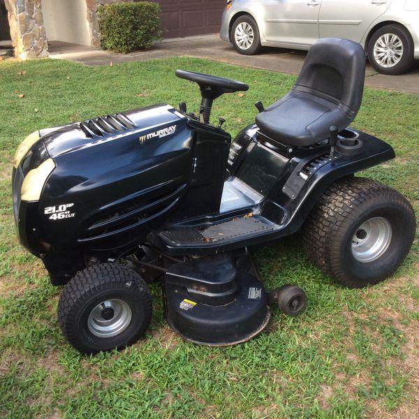 """Murray 21hp V-Twin - 46"""" Cut - New Carburetor - New Plugs - New Deck Belts  - Starts Easily, Runs & Cuts Excellent for Sale in Dunnellon, FL - OfferUp"""