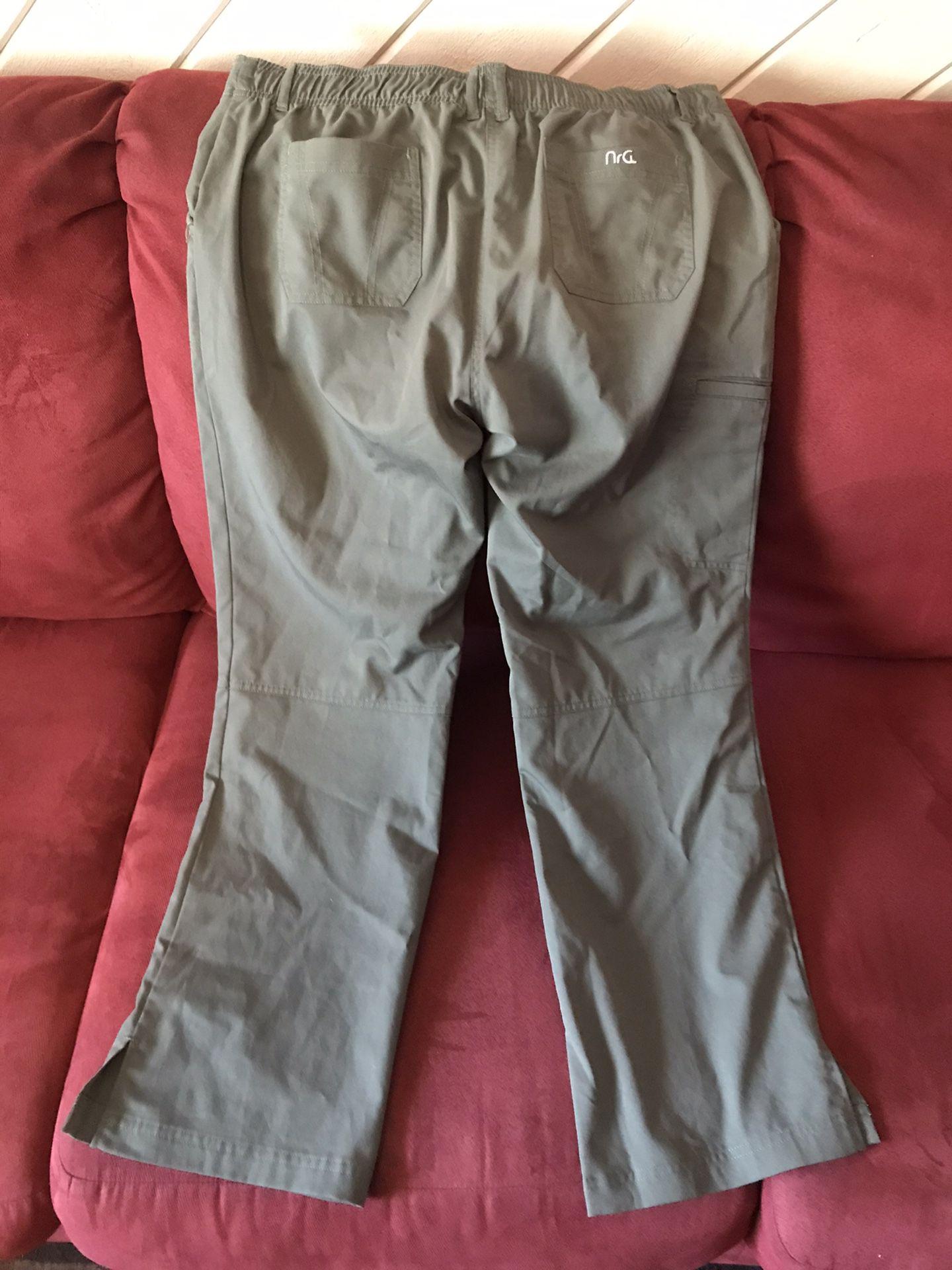 Scrubs, like new pants, woman size L, $12