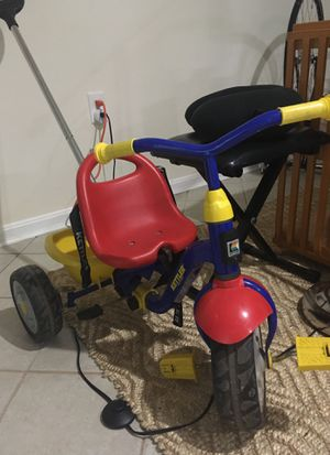 Kettler tricycle with push handle for Sale in Reston, VA