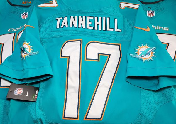 half off f4d30 f52d8 Nike ELITE Miami Dolphins Football Jersey TANNEHILL NFL NEW Sz 48 = XL for  Sale in Orlando, FL - OfferUp
