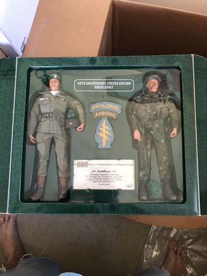 dd5d023a10996 50th anniversary limited edition green beret action figures for Sale in  Murrieta