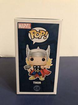 Funko Pop ECCC Exclusive Marvel Thor Figure Thumbnail