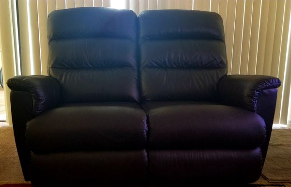 Strange Lazboy Tripoli Pwr Recliner Xrm Leather Loveseat For Sale In Machost Co Dining Chair Design Ideas Machostcouk