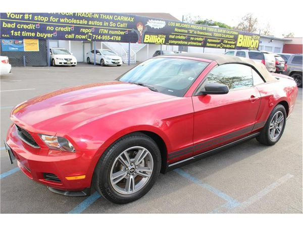 2010 Ford Mustang Convertible 4 0
