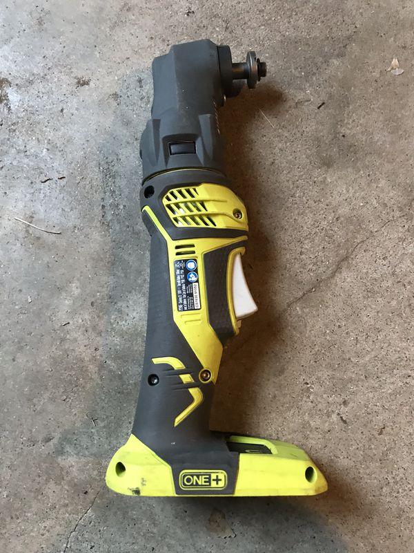 Ryobi P246 18v One+ Cordless JobPlus Multitool w/ P570 Head Attachment  multi tool for Sale in Denver, CO - OfferUp