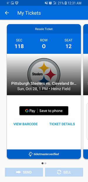 Steelers vs Browns Game 10/28 @ Home for Sale in Monroeville, PA