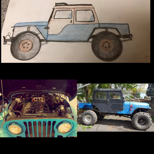 """1973 Cj5 """"Gladiator"""" Project For Sale In Clackamas, OR"""