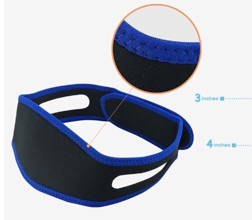 Stop Snoring Chin Strap Device Amp 4 Nose Vents To Easy Breathing Adjustable 3d Contoured Sleep