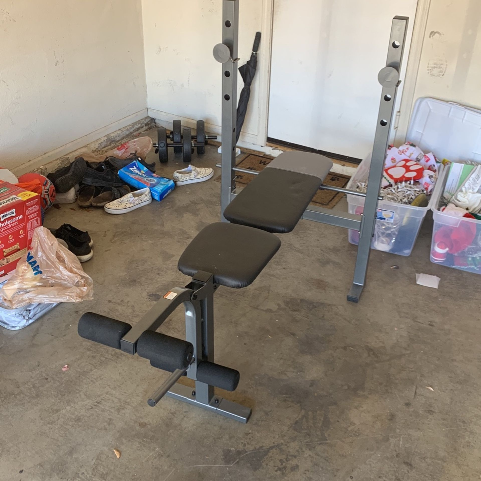 Weider Bench and Rack
