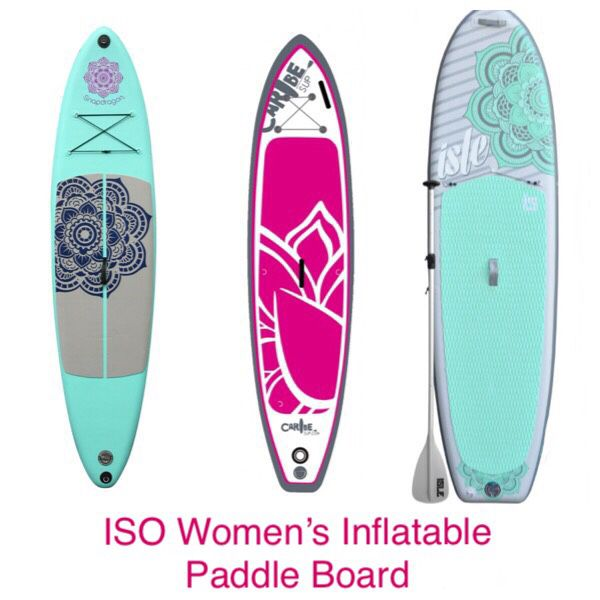 I m in search of (ISO) a women s inflatable paddle board for Sale in  Monroe 4193f5558f
