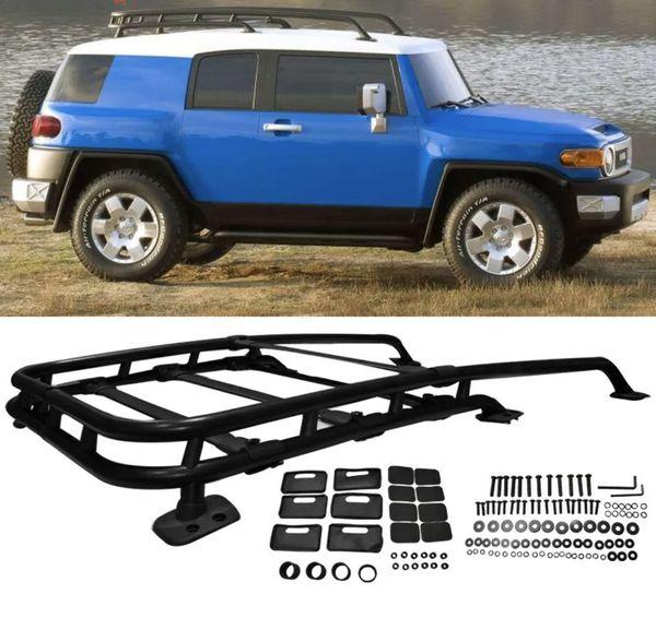 2007-2014 Toyota FJ Cruiser Black Aluminum Roof Rack For