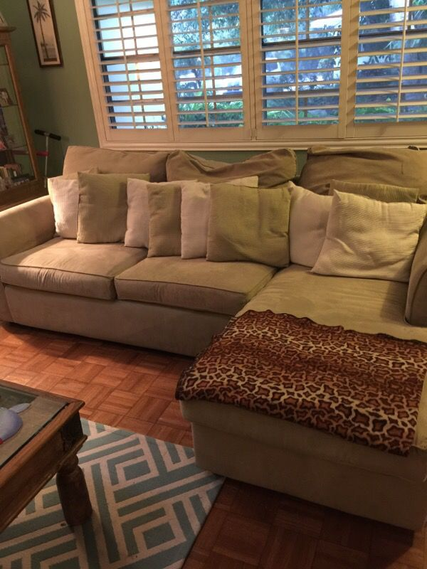 Sectional Kevin Charles Fine Upholstery Couch