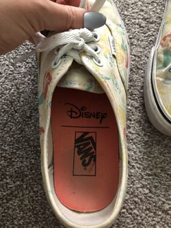 Disney Little Mermaid Vans Thumbnail