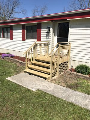 Pressure Treated Home , Mobile Home & RV Steps for Sale in Columbus, OH