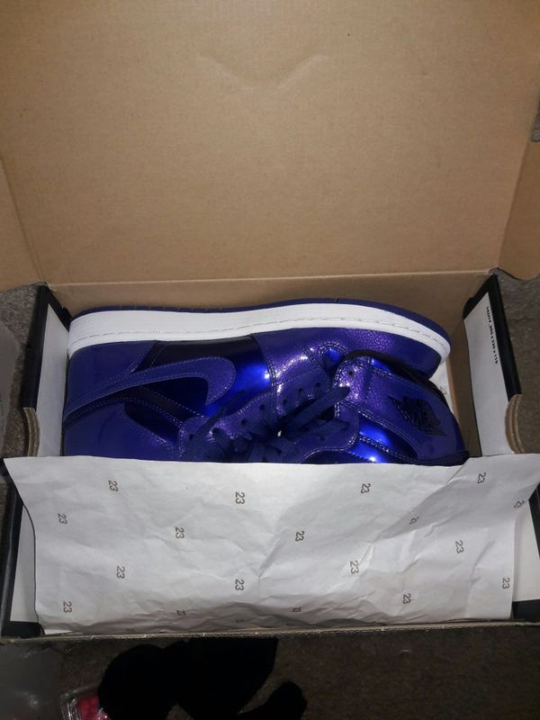 83a91b7ddf18 Deep royal blue retro ones for Sale in Columbus