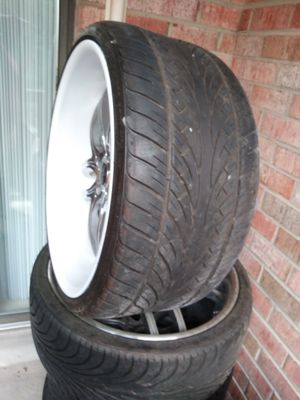 RIMS AND TIRES for Sale in Gaithersburg, MD