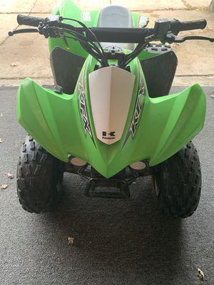 Photo Kawasaki KFX 90 4 wheeler