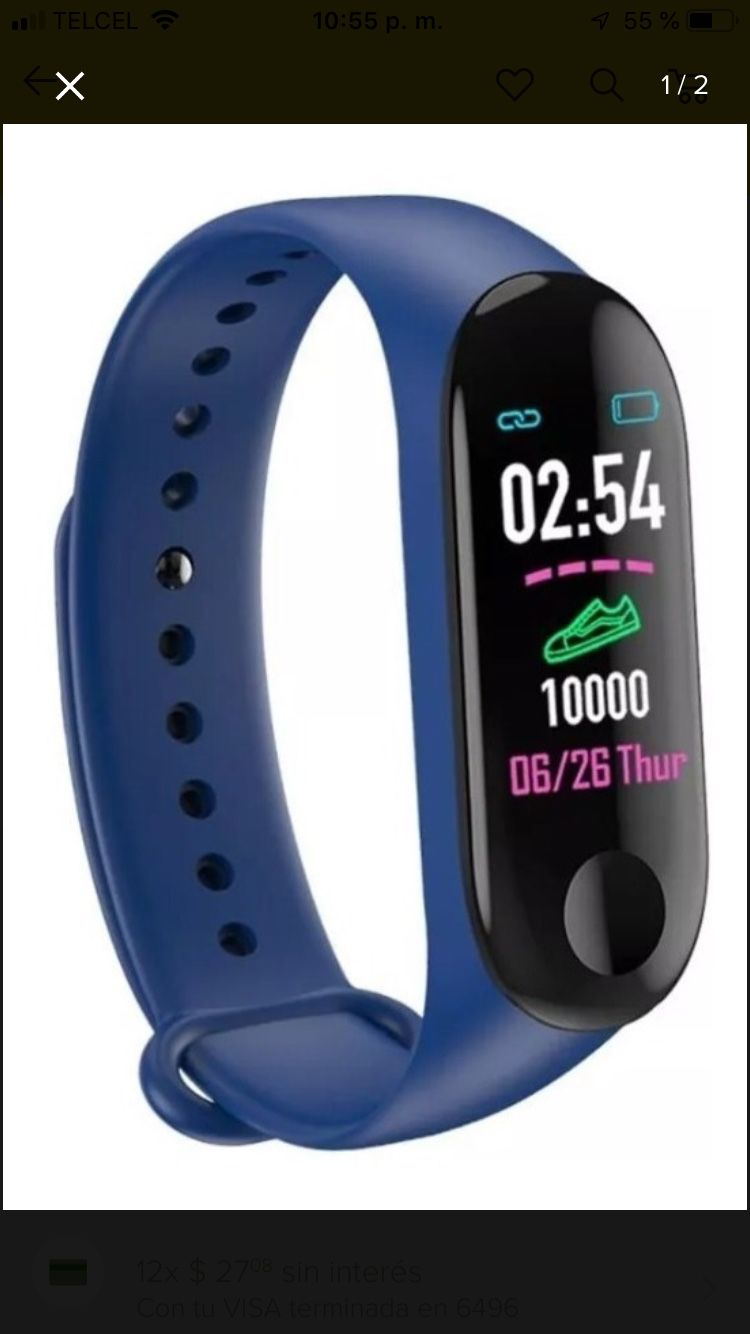 Watch intelligent health bracelet and Activity Tracker Heart Rate Monitor