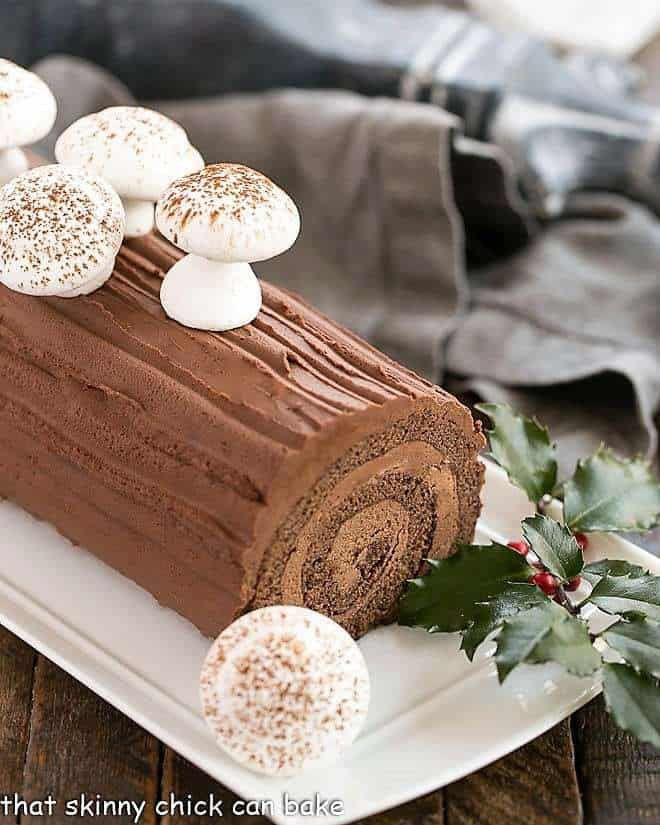 Hi for your new year French bûche contact us