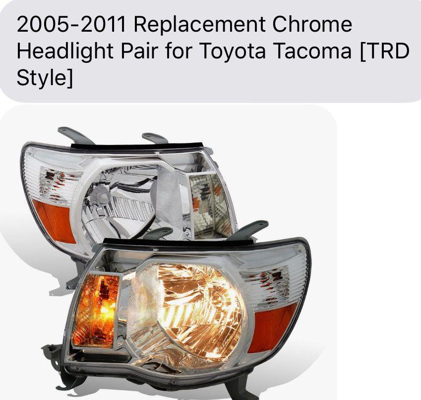 Toyota Tacoma 05-11 New Headlights