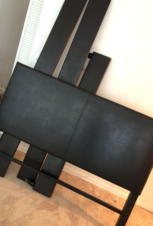 Headboard and frame excellent condition smoke free home for Sale in ...