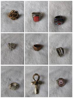 Eleven Fashion Stretch Rings Thumbnail