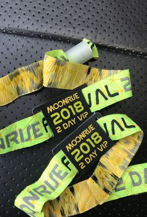 Moonrise vip 2 day passes for Sale in Springfield, VA