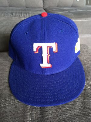Texas Rangers 2011 World Series new era hat baseball blue 7 1 2 for Sale in  Lewisville e94f843049b6