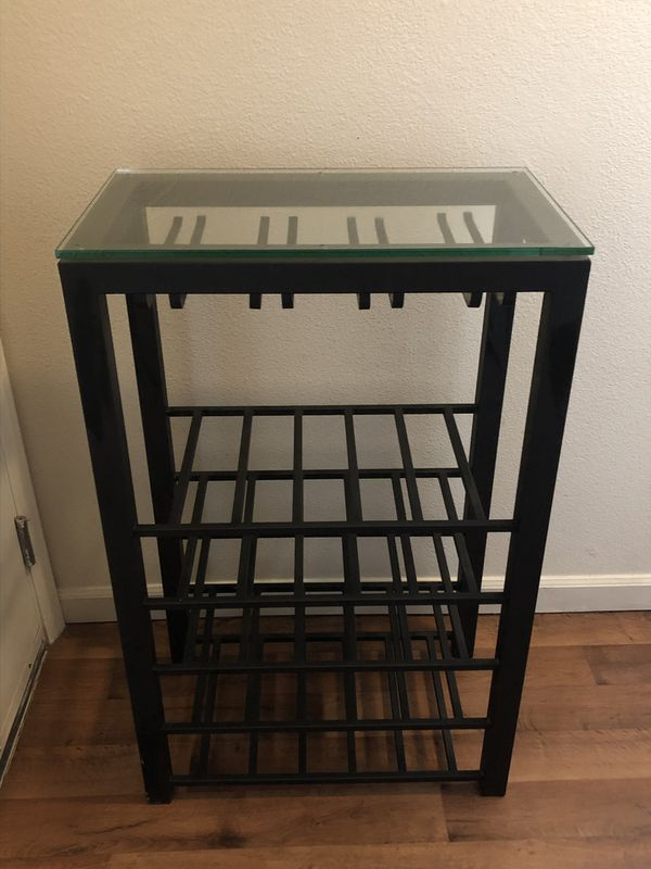Glass Top Wine Rack For Sale In Mill Creek Wa Offerup