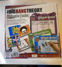 The Big Bang Theory Ultimate genius party Adult Board game Sealed Thumbnail
