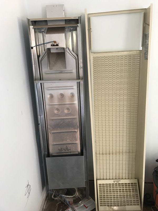 Cozy Gravity Wall Furnace W255g Natural Gas Single