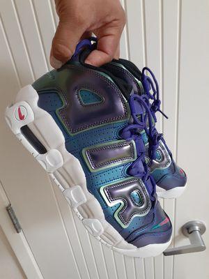 Photo Nike Air More Uptempo (GS) Iridescent Purple