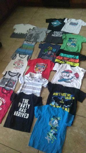 7bd447ed1b34 Boys size 5 shirt bundle (18 shirts) for Sale in Fresno