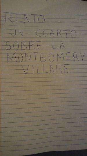 Rento cuarto for Sale in Montgomery Village, MD