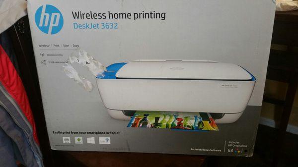 HP Deskjet 3632 Wireless Printer for Sale in Douglasville, GA - OfferUp