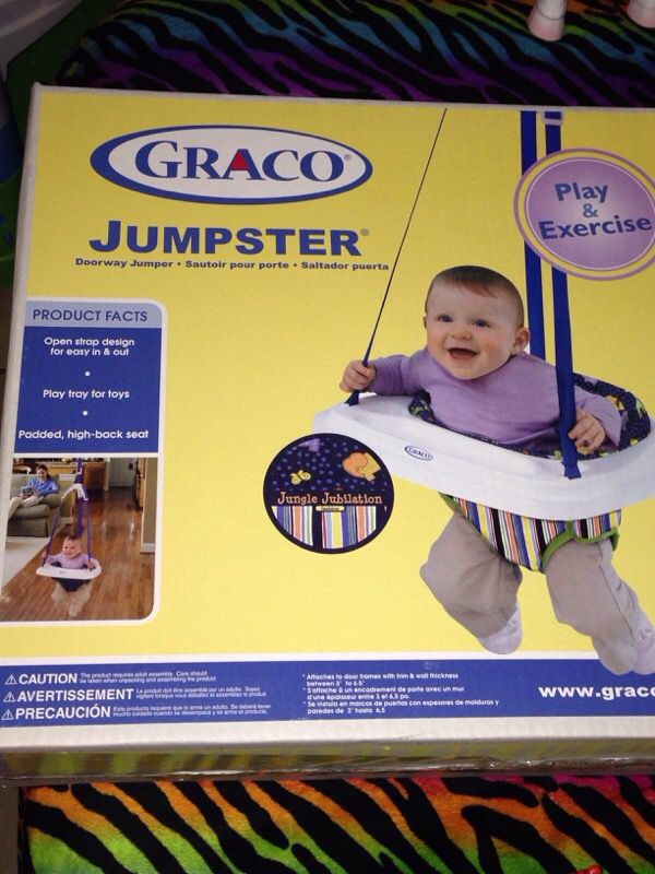 bcdb4e256 Brand new Graco jumpster for Sale in San Antonio