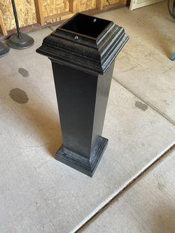 """(4)- 4x4 post metal decorates 30"""" tall Thumbnail"""