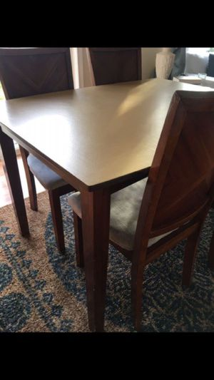 Dining Table Chiseled Glass Top For Sale In Danville Ca