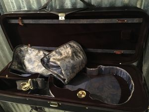 Violin Hard CasePaititi with Hygrometer Full Size Professional Lightweight for Sale in Kensington, MD