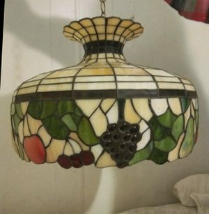 Tiffany style light stained glass for Sale in Alexandria, VA