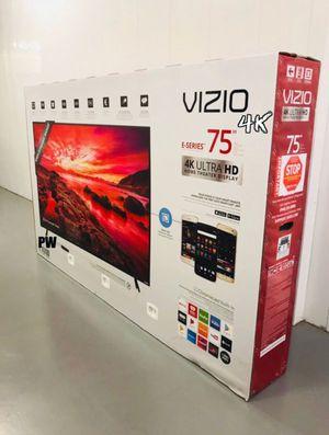 "75"" Vizio 4k UHD HDR LED Smart Tv (FREE DELIVERY) for Sale in Tacoma, WA"