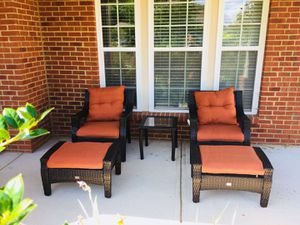 End of season sale!5pc causal wicker outdoor furniture for Sale in Woodlawn, MD