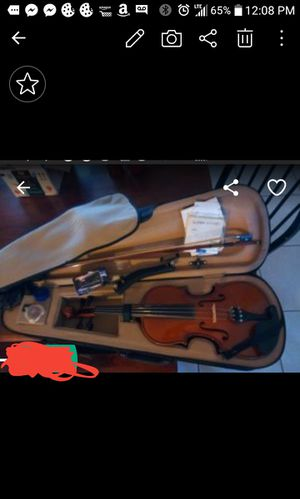 Violin. 4/4 comes with equalizer. Extra string.case. for Sale in Deltona, FL