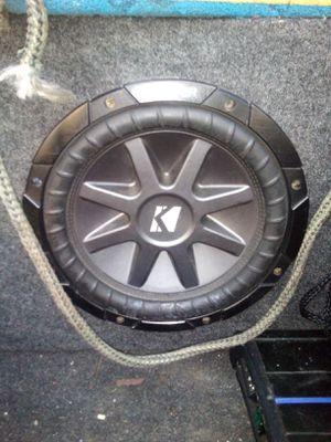Photo Kicker Comp VR Sub and Memphis 1000 watt amp