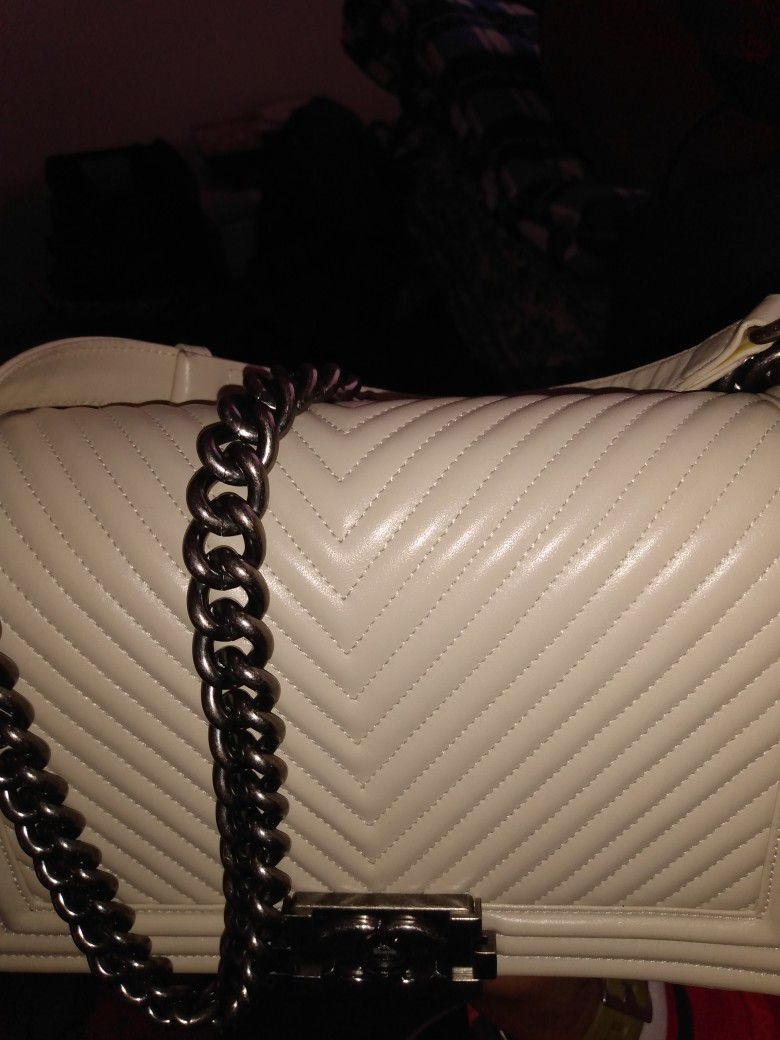 Channel Purse For $250