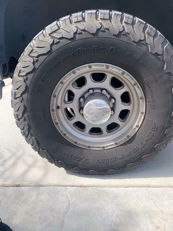 2500 8 lug Chevy Eagle Alloy wheels and BFG Tire for Sale ...