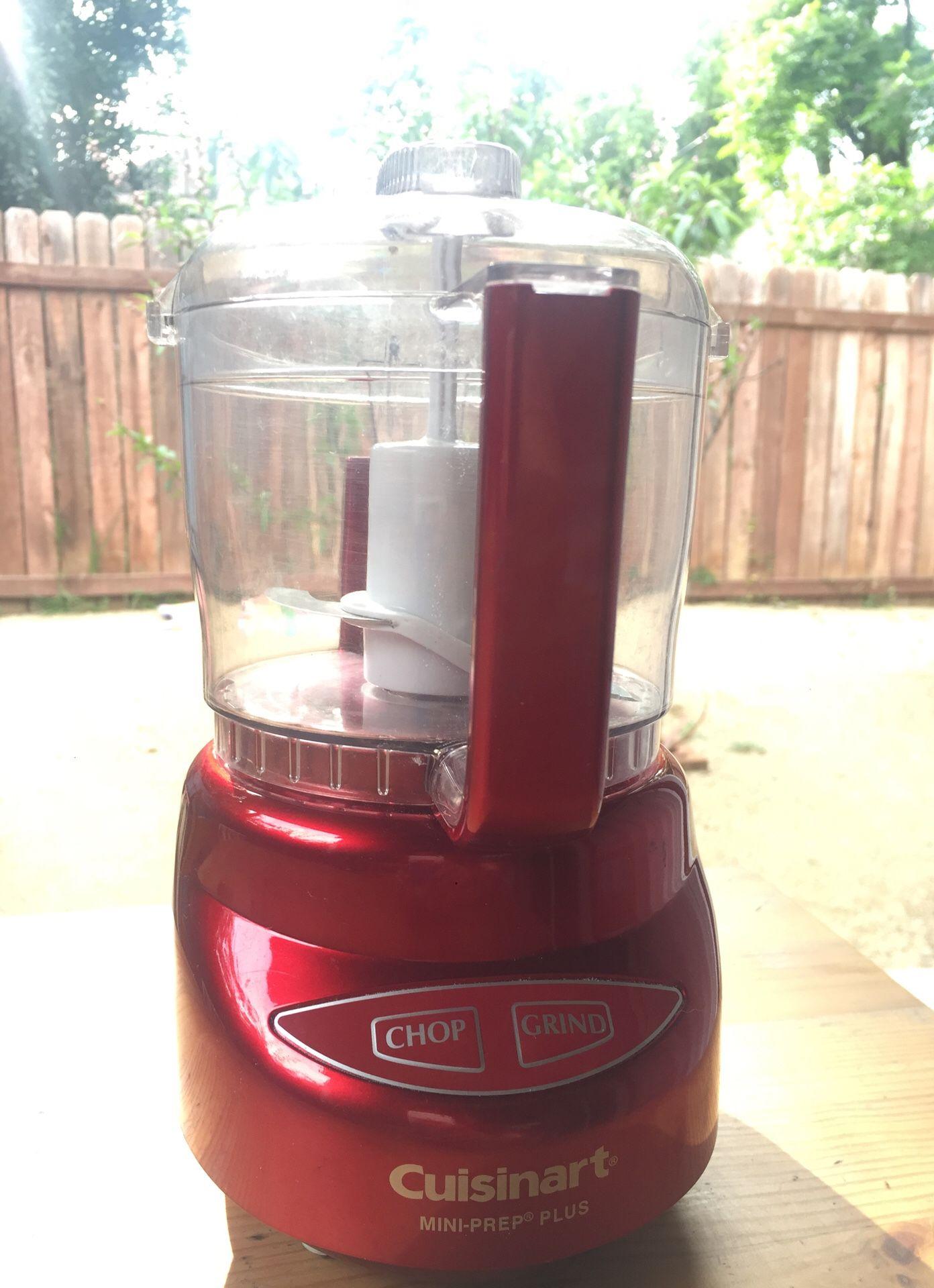 Cuisinart Mini Food Processor Red