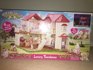 NEW calico critters dollhouse / luxury townhouse for Sale in Ashburn, VA