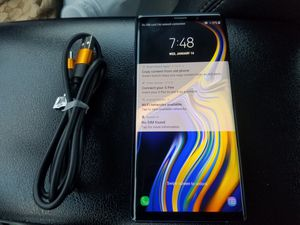 Samsung Galaxy Note 9 128gb Unlocked New for Sale in Rockville, MD